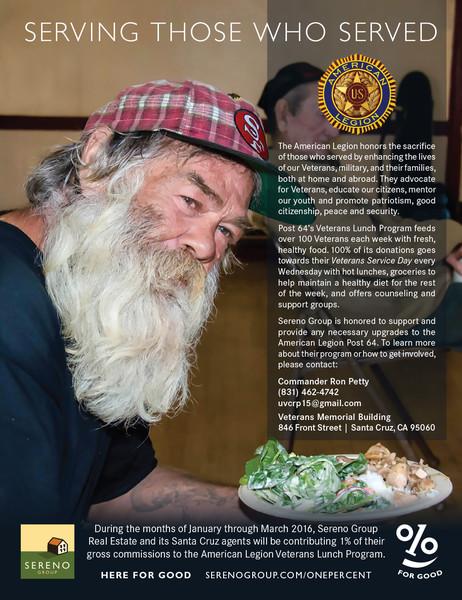American Legion Veterans Lunch Program