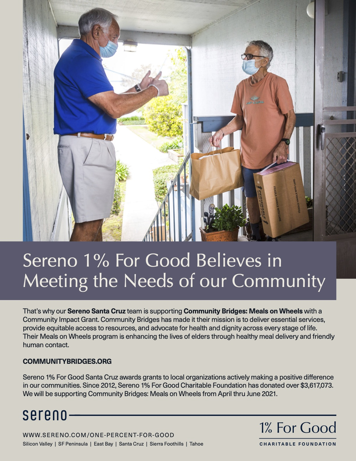 Sereno_OnePercent_SC_Community Bridges Meals on Wheels_Flyer