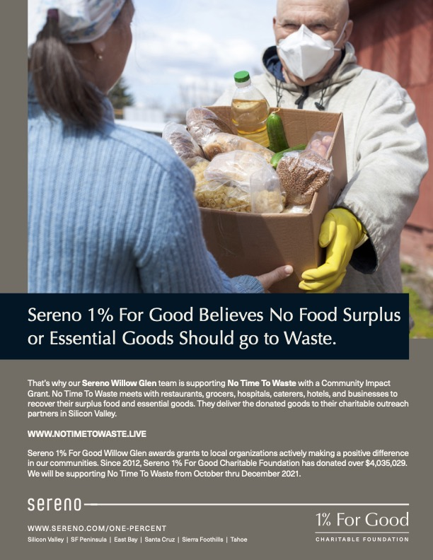 Sereno_OnePercent_WG_No TIme To Waste_Flyer
